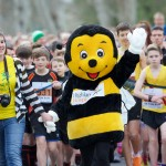 2016 Inverness Half Marathon by Paul Campbell - Bobby the Bee