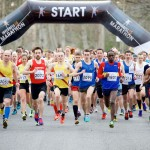2016 Inverness 1/2 Marathon Start