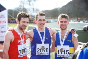 Inverness Half Marathon 2016 - winning men by Paul Campbell