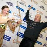11 Year old Lauren MacLeod wins the best individual fancy dress.
