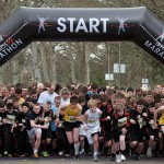 Start of the 5K Fun Run