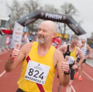 Graham Laing, Inverness Half Marathon